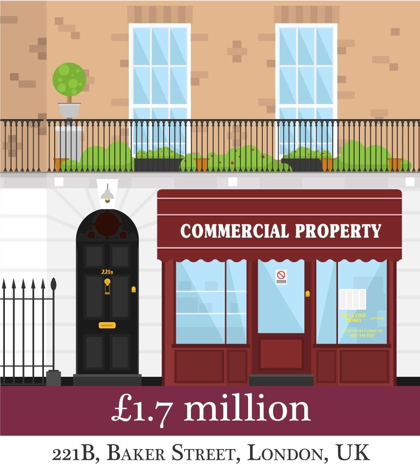 Could You Afford Sherlock S Baker Street Flat Or Dot