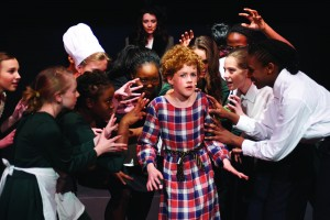 Photo of Cobham Hall Drama Production Annie 300x200