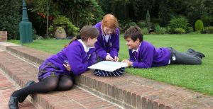 Photo of Queen Ethelburgas College Students Revision 300x154
