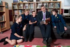 St John's On The Hill Library Headmaster