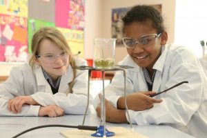 Warminster School Science Lesson