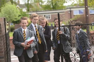 Photo of wrekin college pupils 300x200