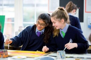 Wycombe Abbey Students Art Lesson