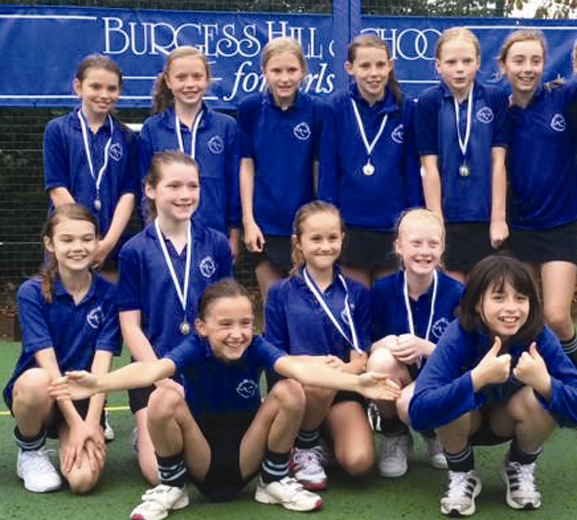 Burgess Hill School S U11 Netball Tournament Uk