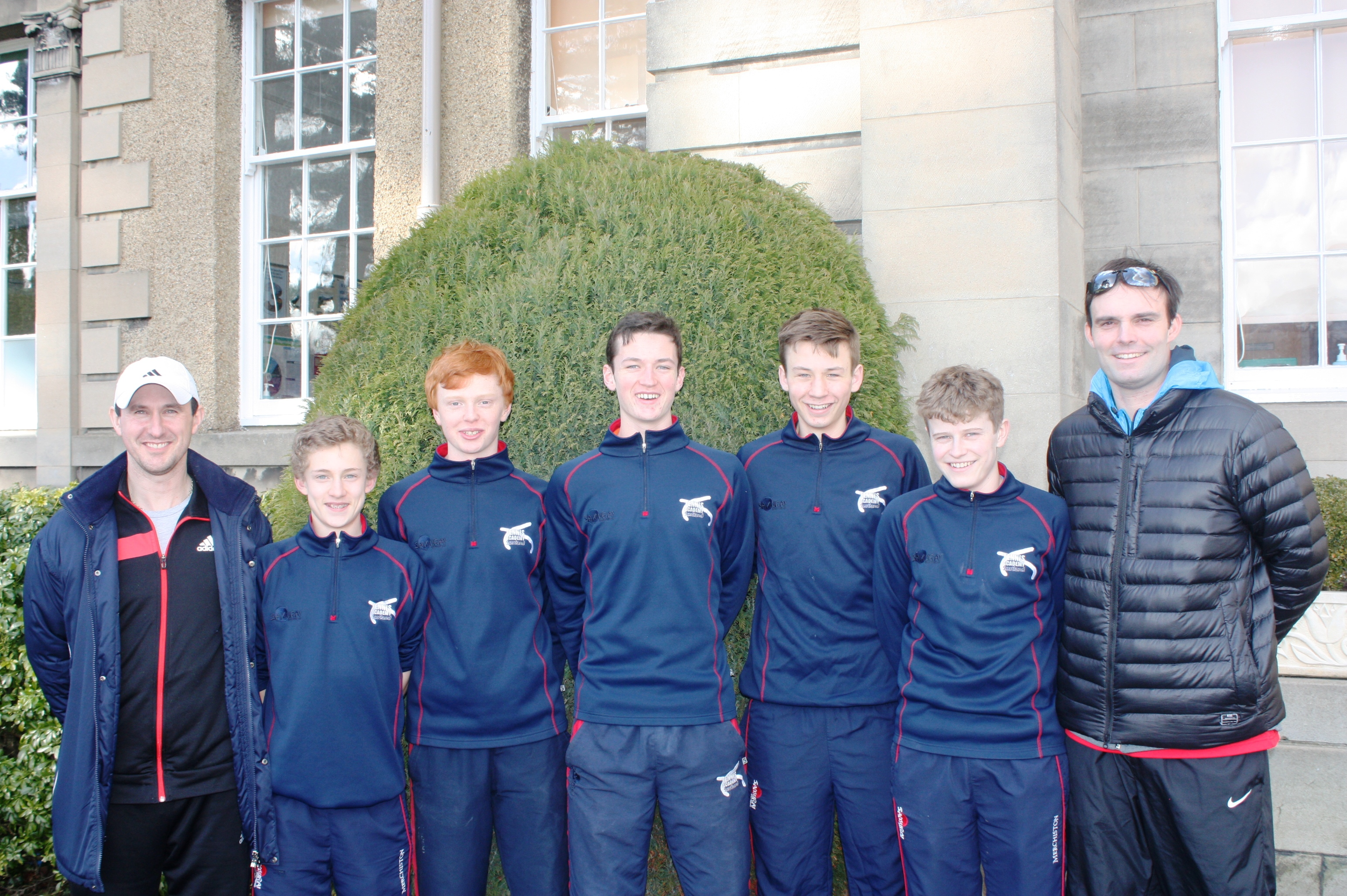 Merchiston Represents Scotland at the ISF Tennis World