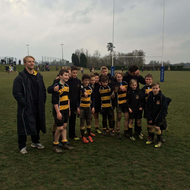 Caterham School U12 VII Win Plate At Reigate Rugby