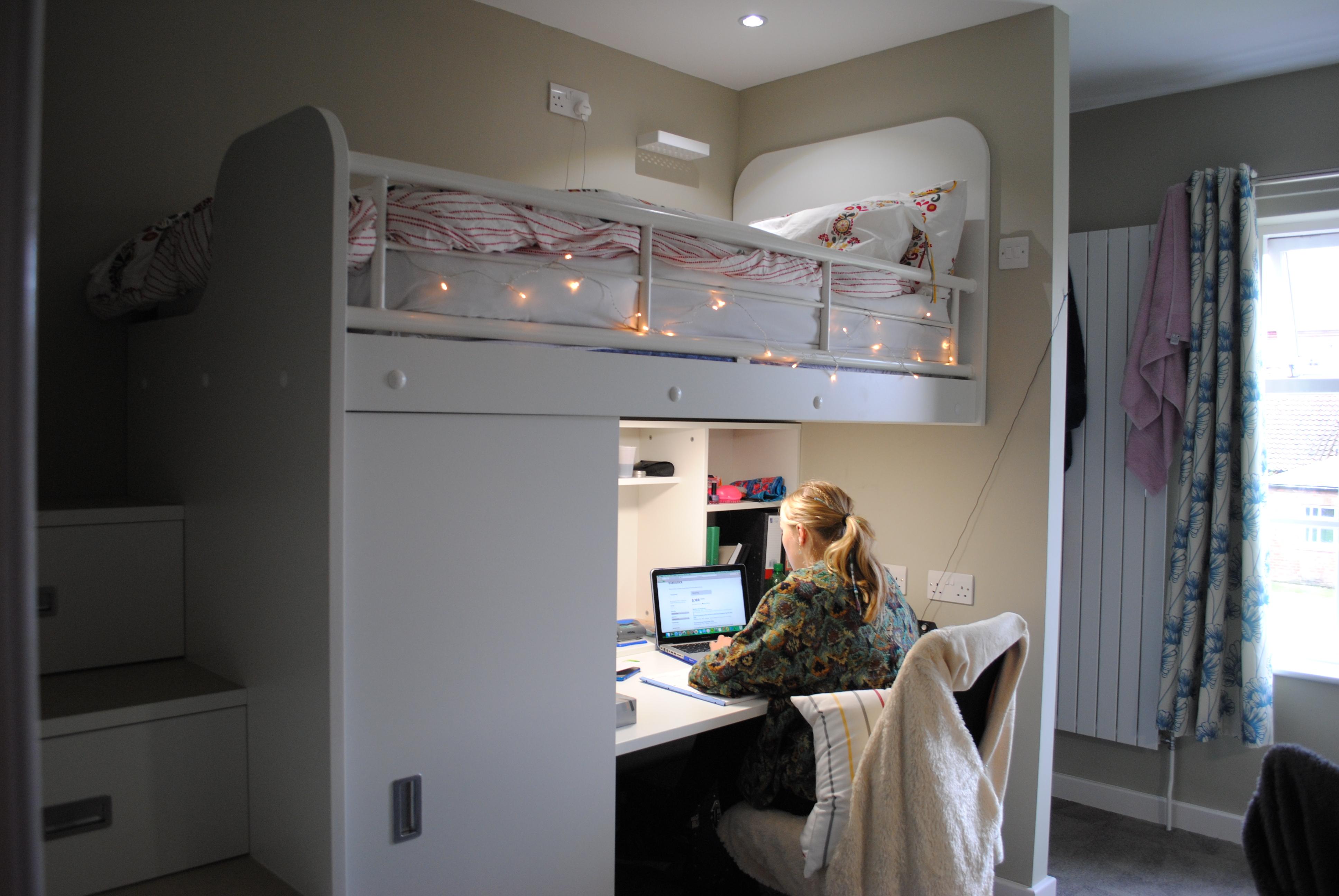 queen margaret's unveils new loft style living :: uk boarding schools