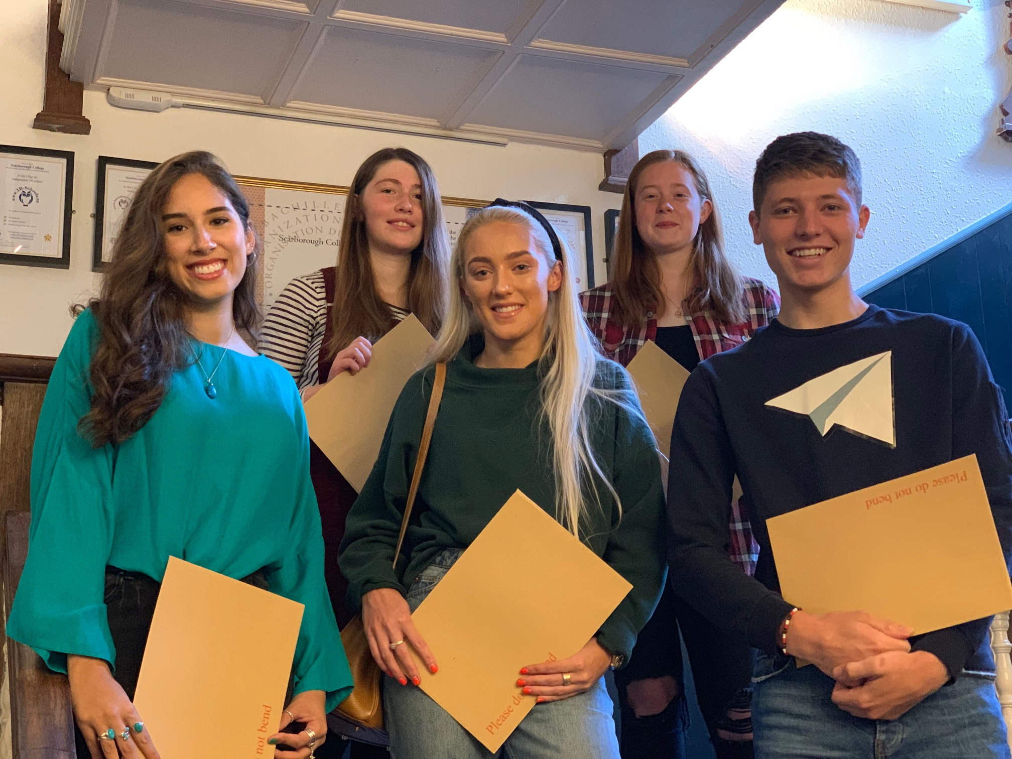 Scarborough College delighted with IB results