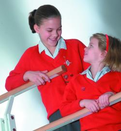 Girls at Godstowe Preparatory school for girls