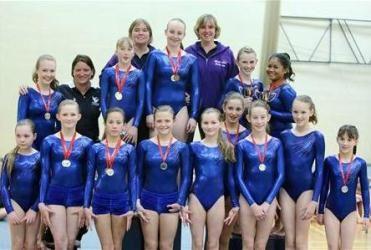 Stamford School Girls Flourish At Gisga Gymnastics