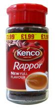 Kenco Rappor gets a makeover