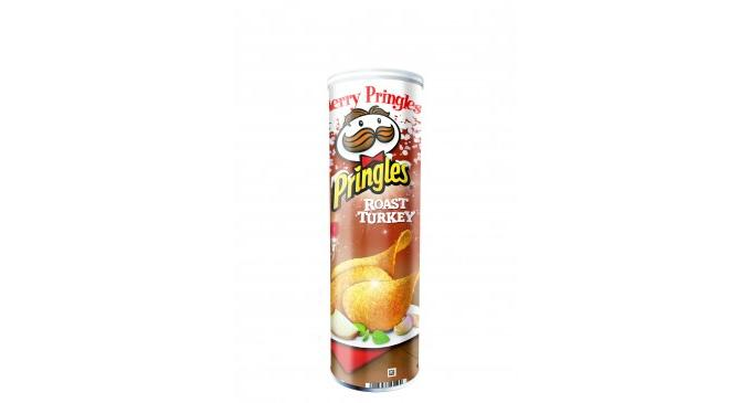 Pringles introduces Christmas lines