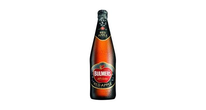 Bulmers limited edition Red Apple cider