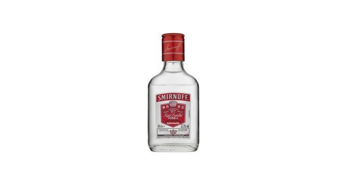 New 10cl bottle size for Smirnoff vodka