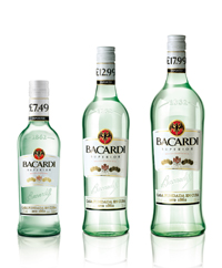 BACARDÍ launches Price Marked Packs across its range