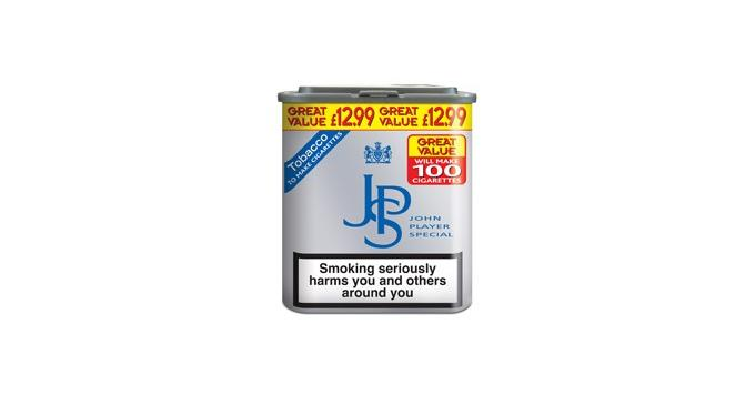 New Great Format for JPS Tobacco – 20 cigarettes for just £2.80!