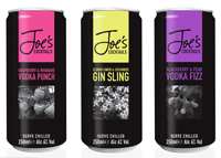 Photo of Joes Cocktails range1