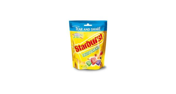 New brand re-launch for Starburst