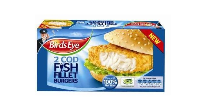 Birds Eye launches Fish Fillet Burgers