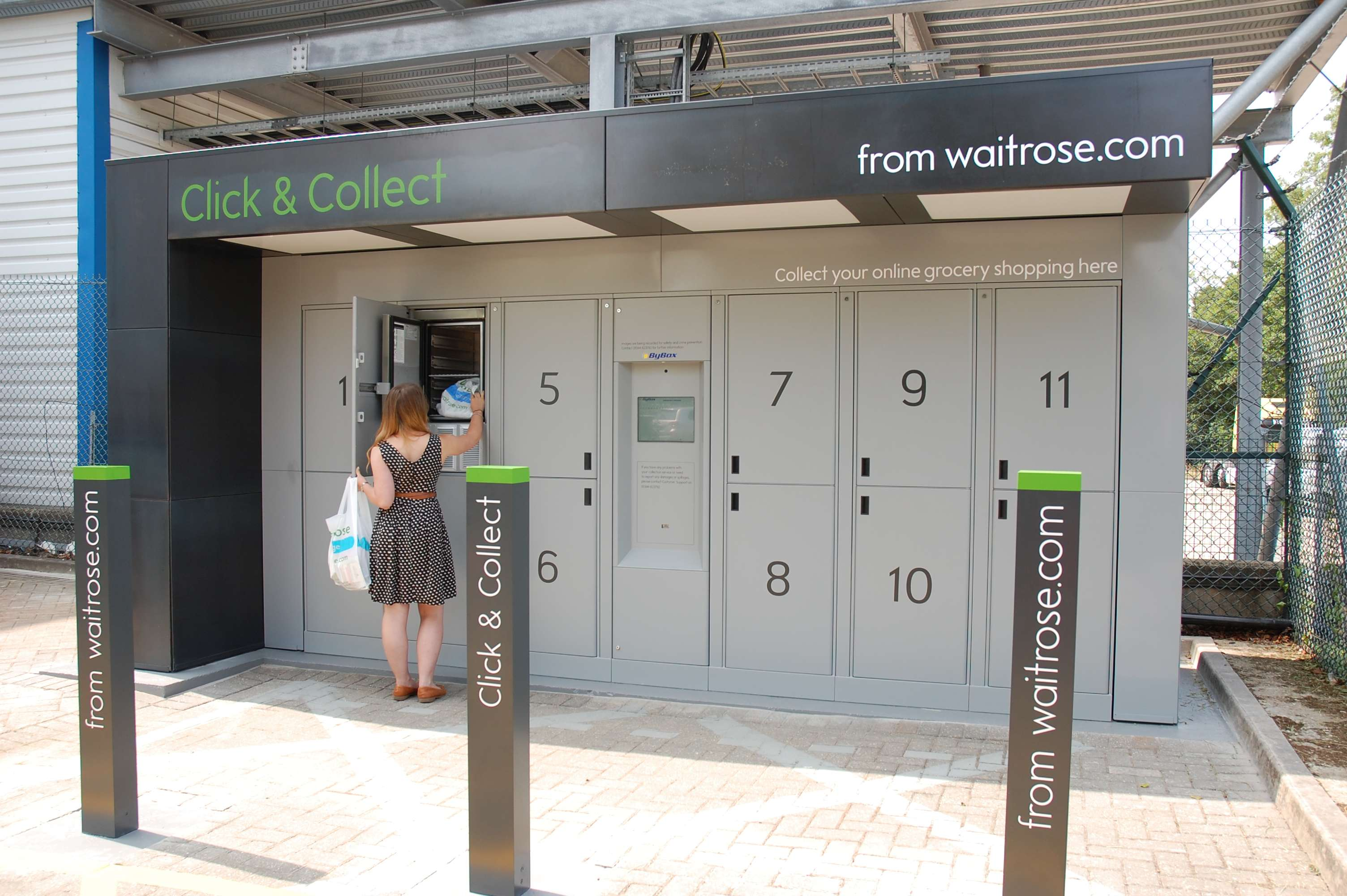 waitrose to launch temperature controlled click and collect lockers. Black Bedroom Furniture Sets. Home Design Ideas