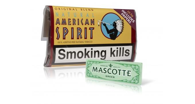 Scandinavian Tobacco Group partners with Mascotte to include rolling papers with Natural American Spirit pouches