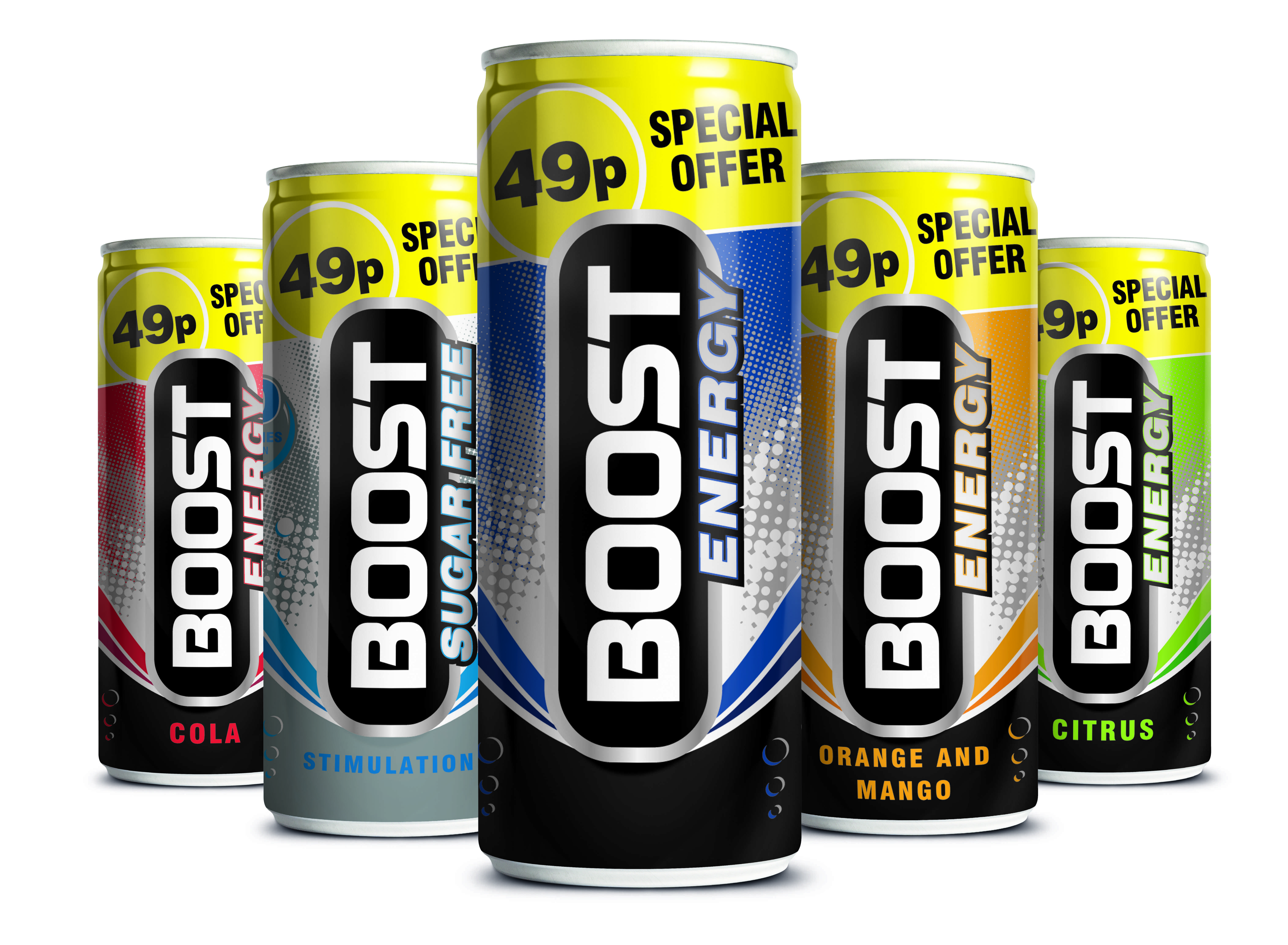 boost energy unveils 250ml 49p price marked can. Black Bedroom Furniture Sets. Home Design Ideas