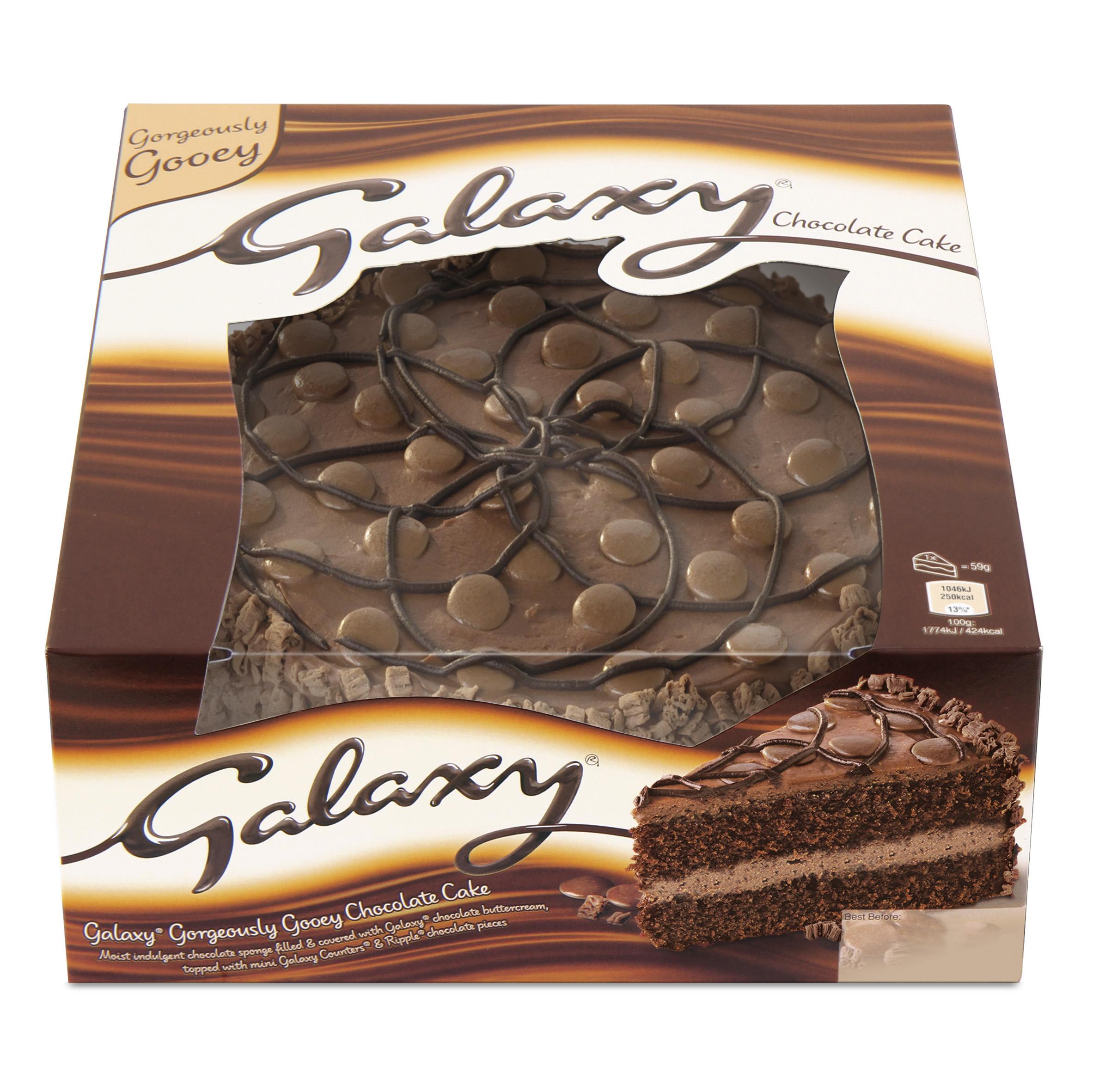 Galaxy Chocolate Birthday Cake Asda Grocery Gems New Mars Cakes