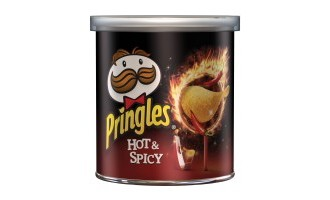 Pringles turns up the heat