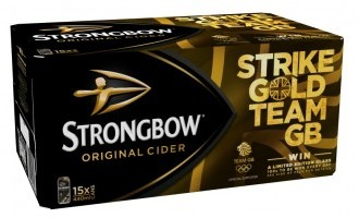 Strongbow announces Team GB support