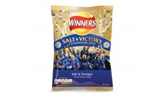 Salt & Victory: Walkers celebrates Leicester title with special packs