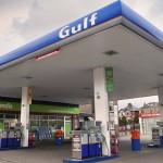 Service Station petrol forecourt