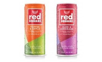 Red Square Vodka gets pre-mix cans