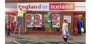 Iceland renames store in wake of England's Euros game