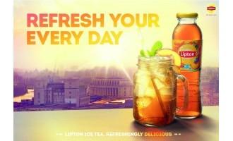Summer campaign for Lipton Ice Tea
