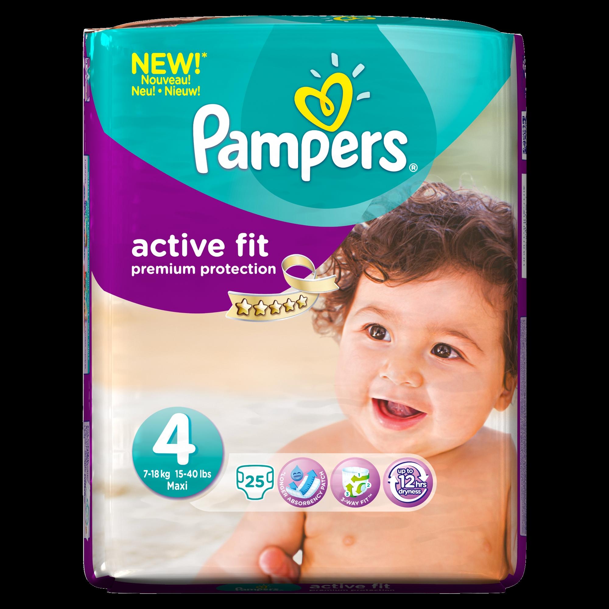 Pampers Unveils New Premium Protection Nappy Range