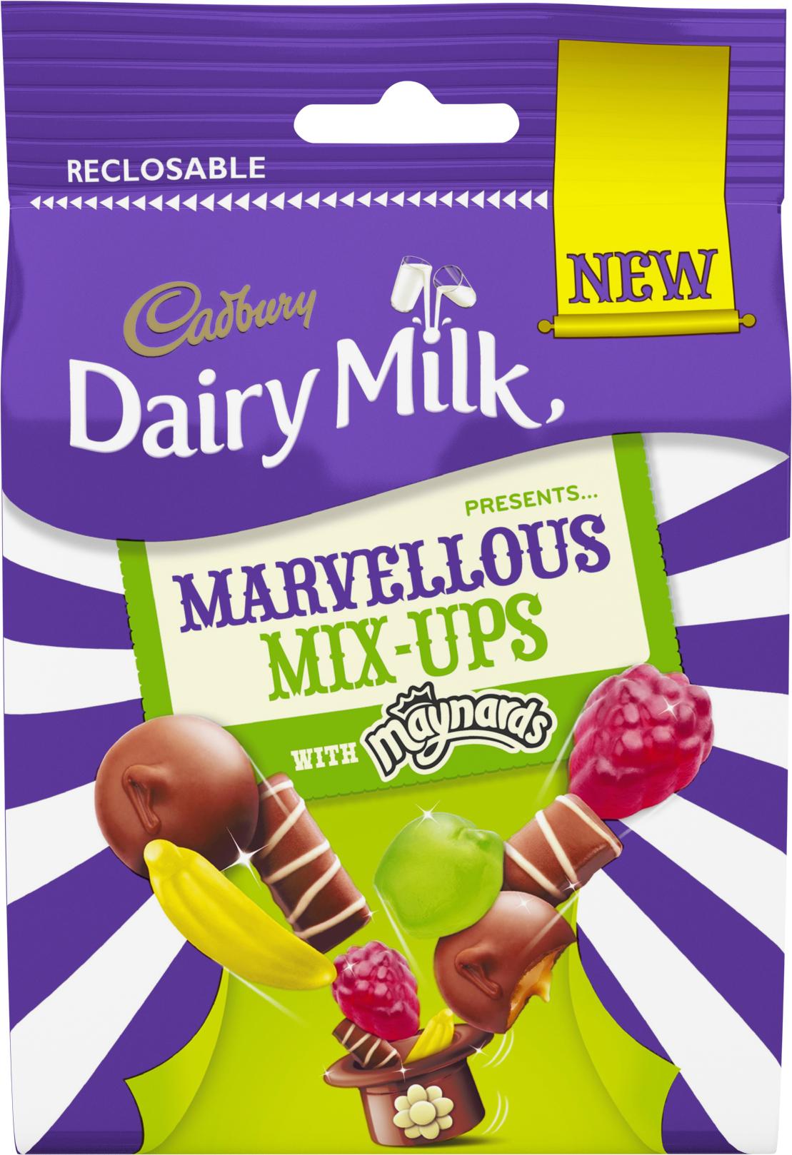 Cadbury Dairy Milk Marvellous Creations Goes Bitesize