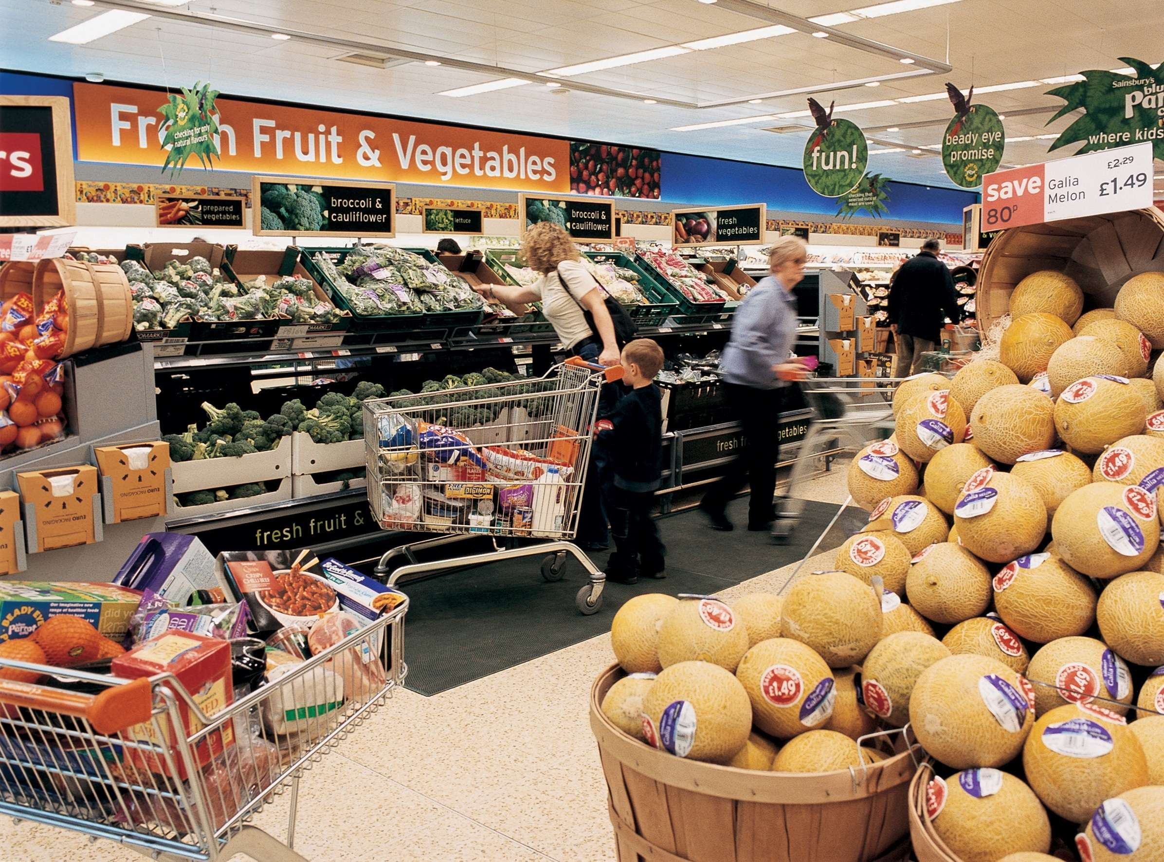uk grocery market Sainsbury's (sbryl), britain's second largest supermarket group which has agreed to buy smaller rival asda, was again the worst performer of the country's big four grocers in the latest 12-week.