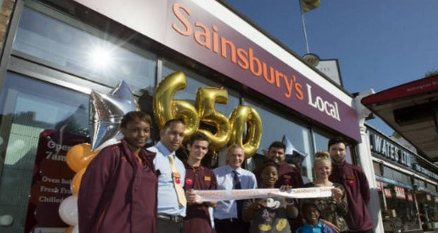 Sainsbury's Rolls Out Argos Click and Collect Points In Convenience Stores