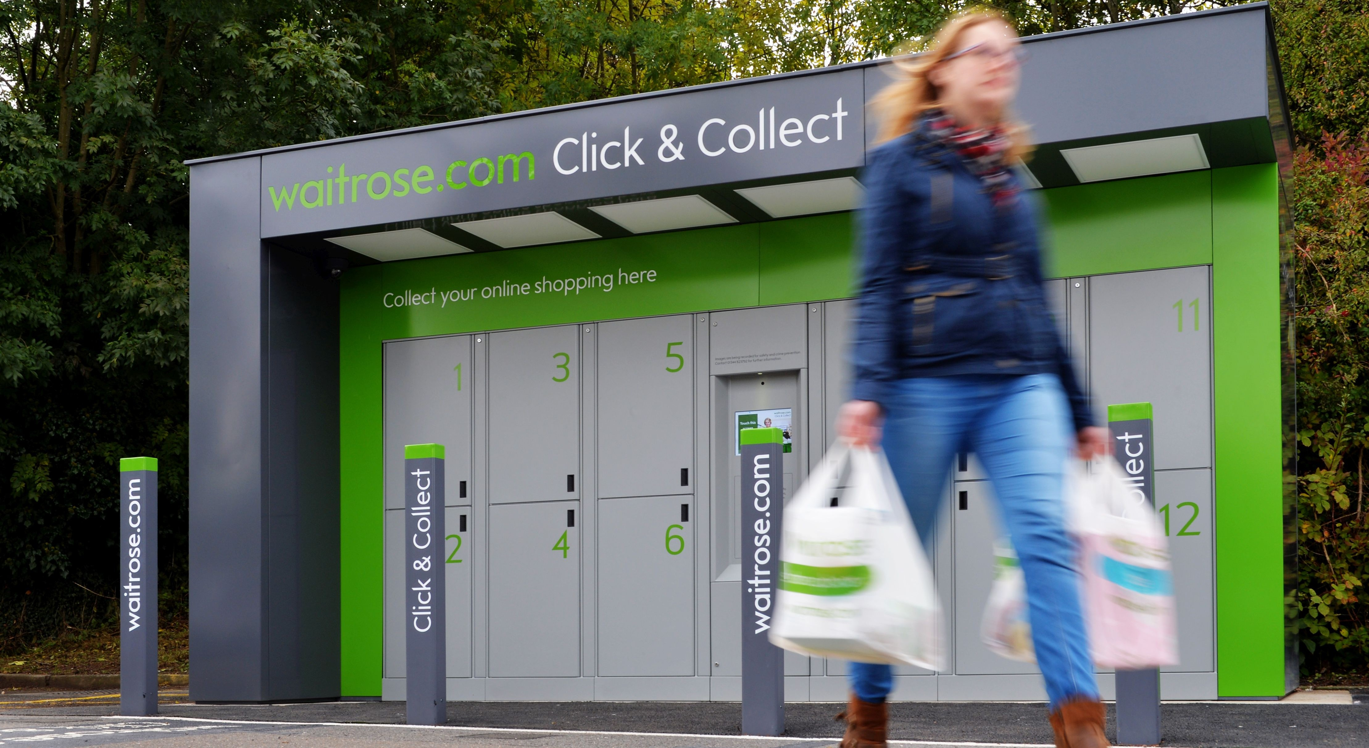 waitrose begins trial of click and collect lockers. Black Bedroom Furniture Sets. Home Design Ideas