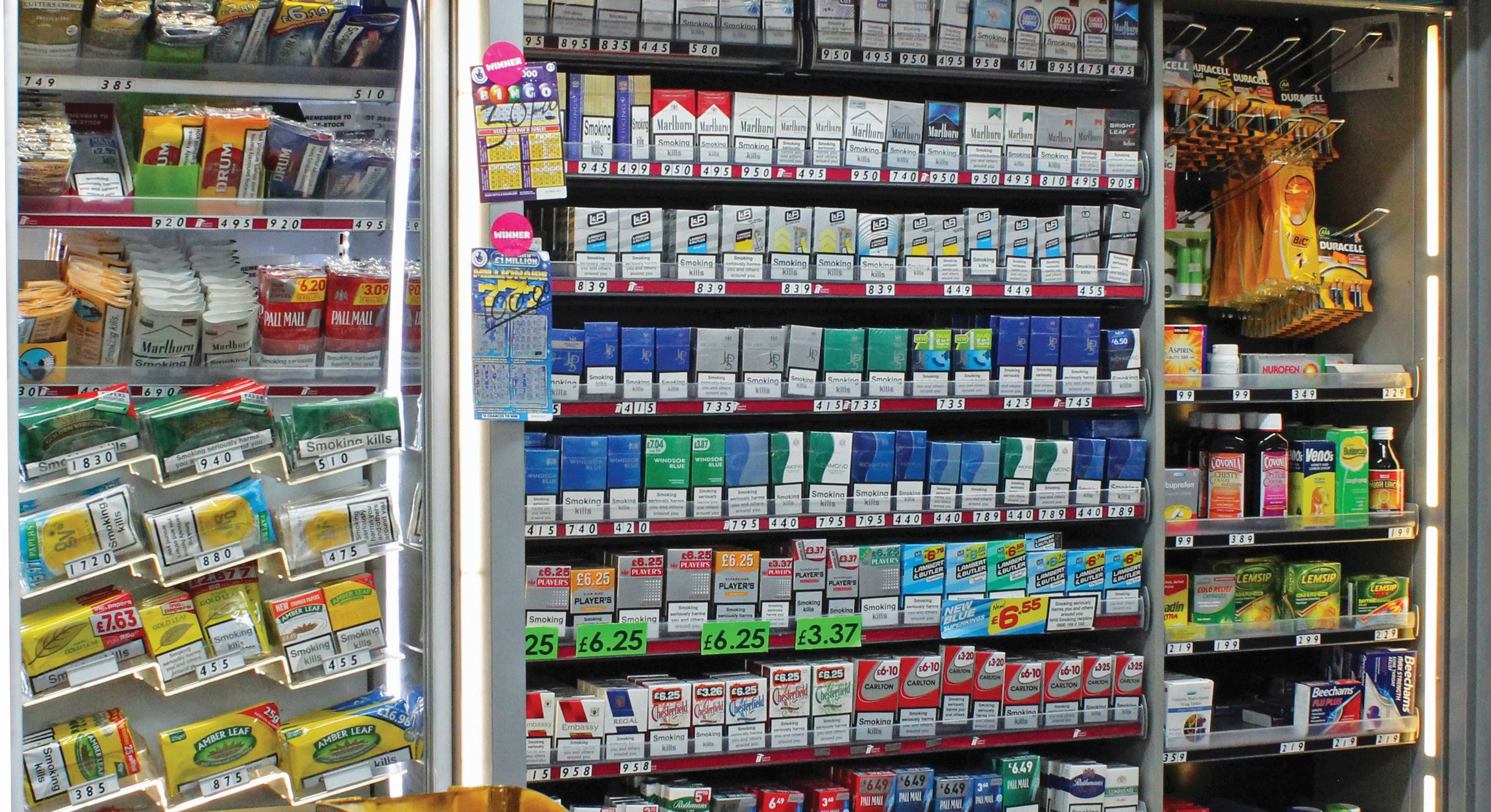 The End Of Tobacco Displays