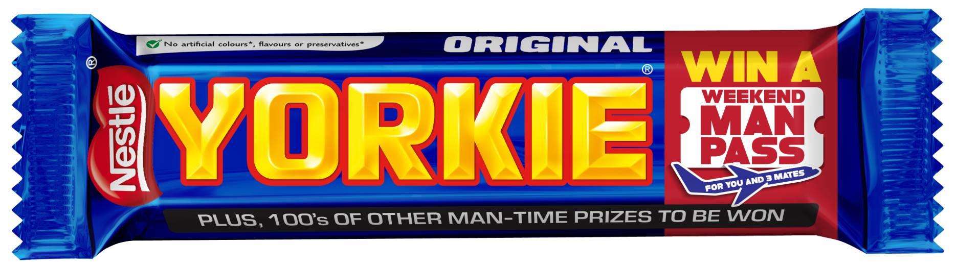 Yorkie Editions Chocolate Bar