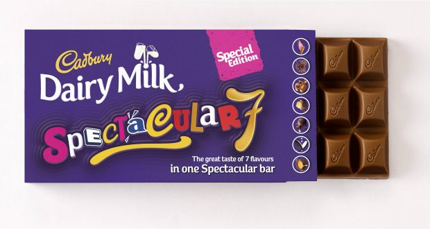 The New Seven Flavoured Chocolate Bar From Dairy Milk