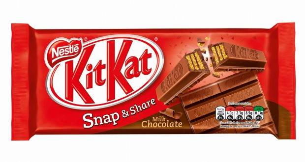 kitkat unveils snap share initiative