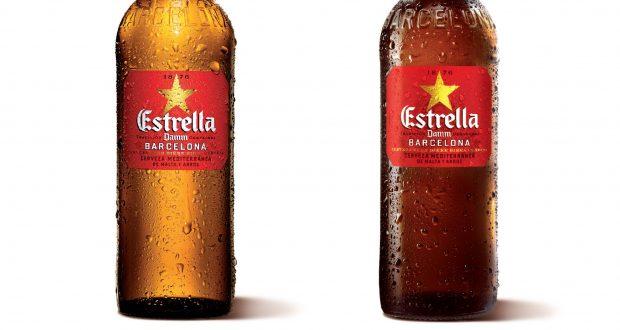 Damm Design bottle design for estrella damm