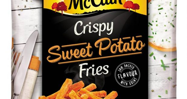 Mccain Launches Sweet Potato Fries And Baby Baked Potatoes
