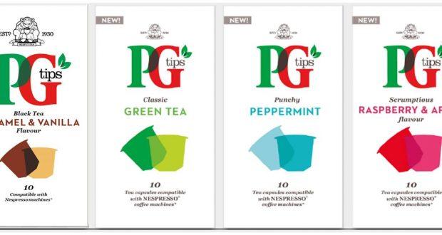 Pg Tips Launches Nespresso Compatible Tea Pod Capsules