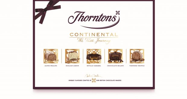 Thorntons Refreshes Continental Range