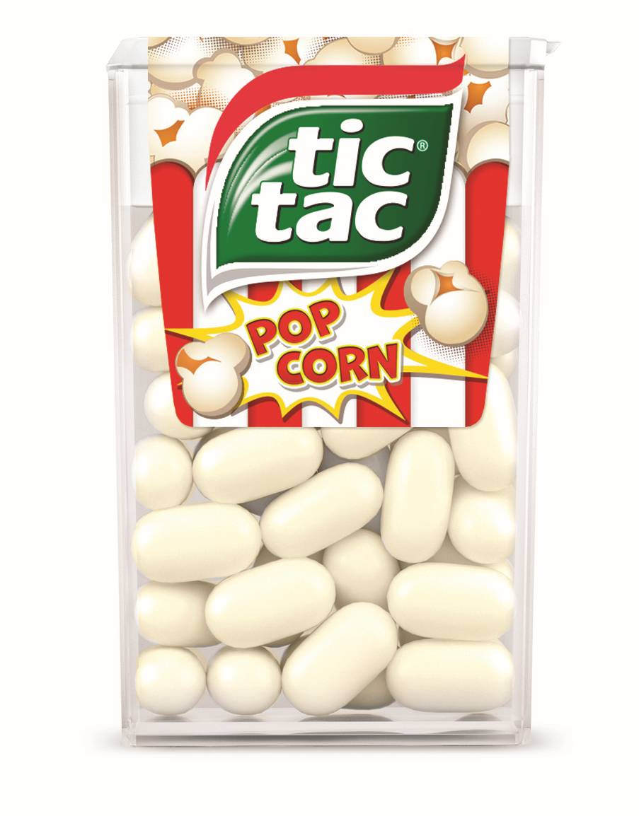 Special edition Tic Tac Popcorn unveiled
