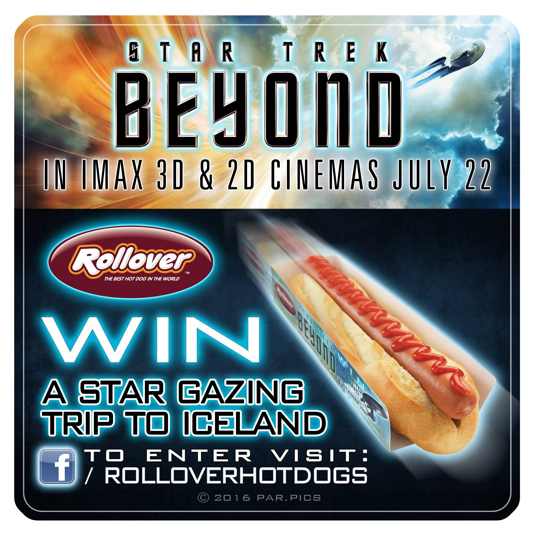 Enter to win a Star Trek Beyond Blu-ray Combo Pack