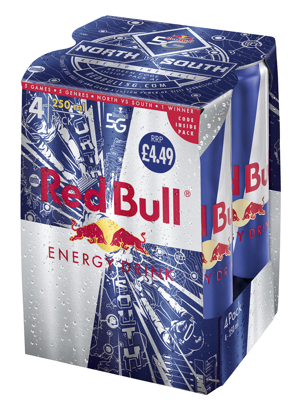red bull launches limited edition 39 gaming 39 4 packs. Black Bedroom Furniture Sets. Home Design Ideas